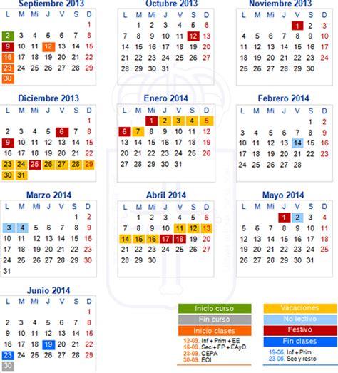 Calendã Escolar Uc A M P A San F 233 Lix De Cand 225 S Calendario Escolar 2013