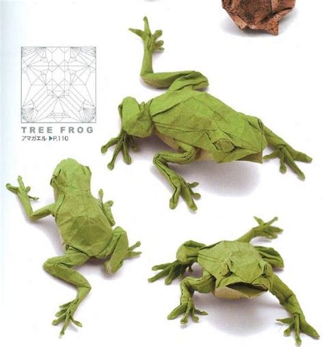 Origami Tree Frog - 496 best origami images on oragami origami
