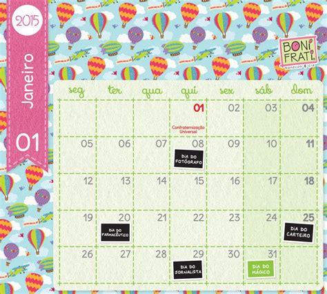 Ebc Calendar Calend 225 De Janeiro 2015 Free Printable And