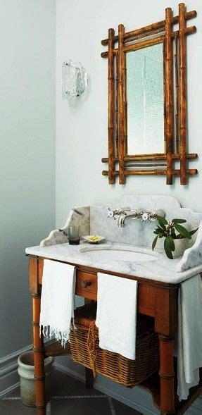 bamboo bathroom mirror bathroom vanity mirrors vanities and marbles on pinterest