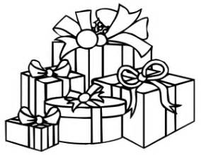 Gifts Clipart Black And White  ClipartFest sketch template