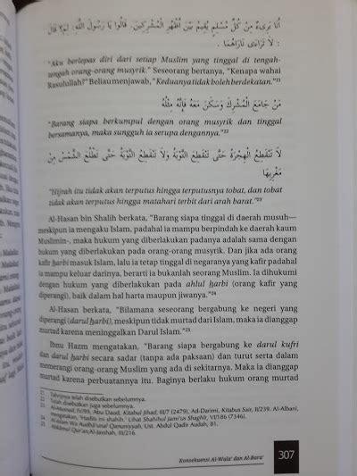 Pedoman Hidup Harian Seorang Muslim 1 buku al wala wal bara loyalitas permusuhan dalam islam