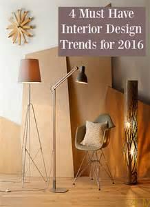 Home Interior Design Trends 2016 by 4 Interior Design Trends 2016 Thrifty Home