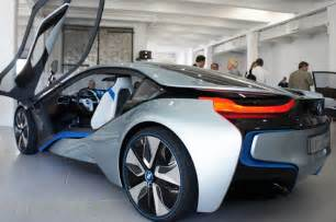 Electric Cars Bmw I8 Price Photos Bmw Unveils I3 Electric Car And I8 Hybrid Electric