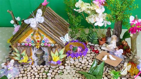 how to make a beautiful garden beautiful magical fairy house and garden easy to make