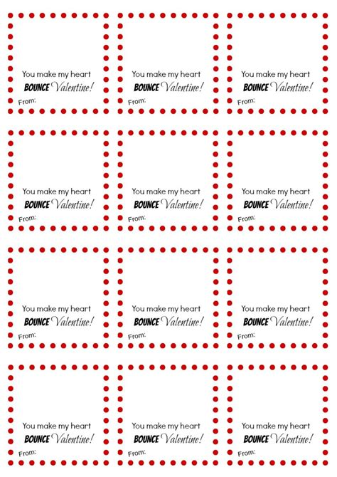 bouncy printables you make my bounce printable about a