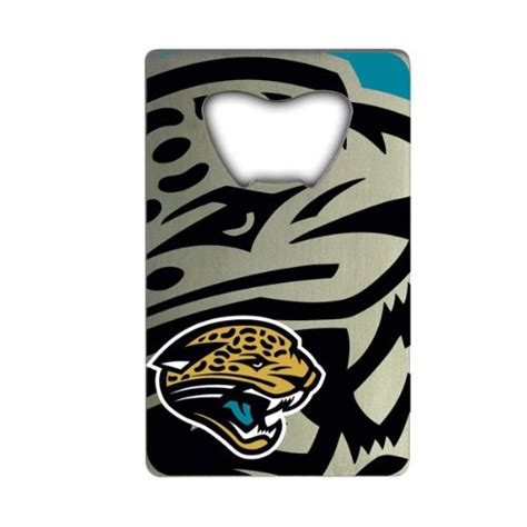 jaguar credit jacksonville jaguars credit card bottle opener for nfl