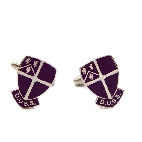 Durham College Letterhead durham business school enamel crest cufflinks