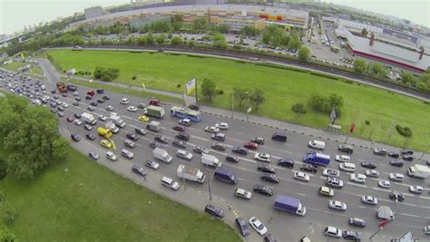 aerial view of dealership moscow may 14 2014 dealer center avilon of mercedes