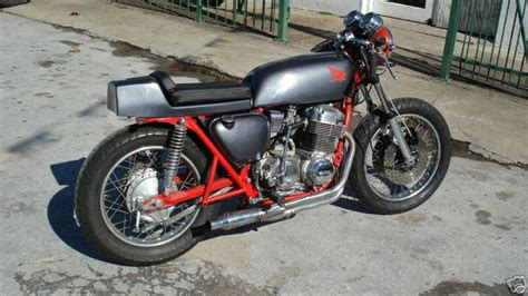 Handmade Cafe - honda custom motorcycles