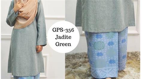 Baju Rossa Songket baju kurung pahang songket terkini hijau jadite green gps 356 syaisya