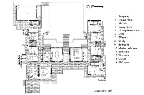 h shaped floor plans clearwater house architecture now