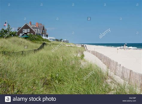 buy house in long island ny beach house on dunes east hampton suffolk county long island new york stock photo