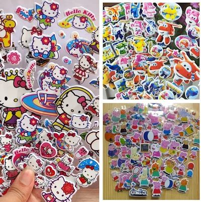 10 Cutest Hello Goodies by Qoo10 Sticker Toys