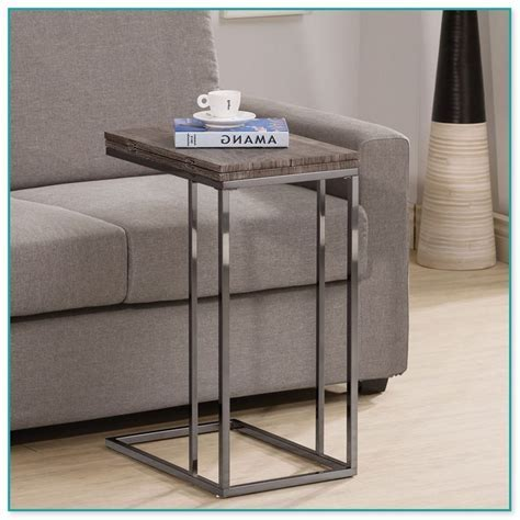 Luxury Small End Table With Charging Station