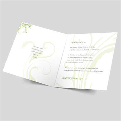 Hochzeitseinladung Ornament by Hochzeitseinladung Zarte Ornamente