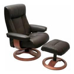 Scansit 110 ergonomic recliner chair and ottoman scandinavian lounger
