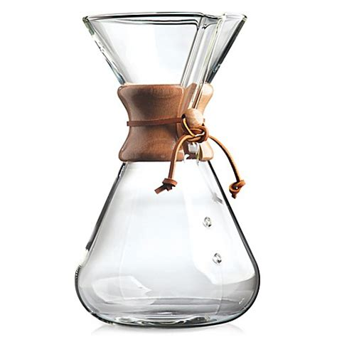bed bath and beyond chemex buy chemex 174 handblown 13 cup coffee maker from bed bath