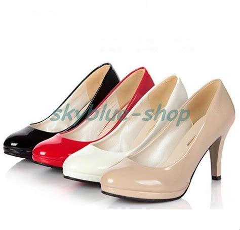womens new toe platform high heels office work