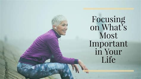 Whats Your Must Essential by Focusing On Whats Most Important In Your