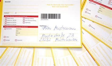 Dhl Etikett Drucken Online by Pakete Richtig Versenden 5 Kriterien Damit Ihre Ware