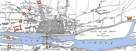 siege d orleans carte du si 232 ge d orl 233 ans en 1429