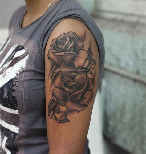 tattoo prices bangalore roses sleeve realism tattoo by pradeep junior tattoos in