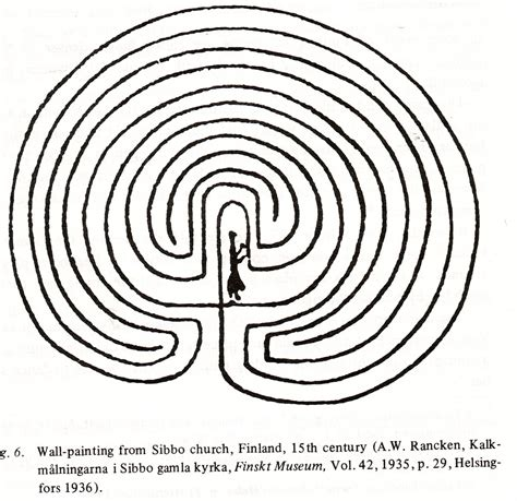 in labyrinth labyrinths and ritual in scandinavia the barrel