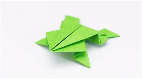 free coloring pages origami frog traditional model