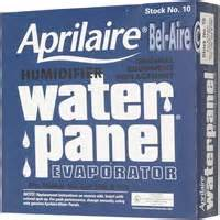 aprilaire 45 humidifier filter genuine media for model aprilaire 10 water panel pad humidifier filter
