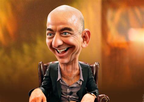 amazon ownership jeff bezos caricature jeffrey preston bezos aka jeff