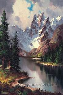 landscape painters best 25 landscape paintings ideas on