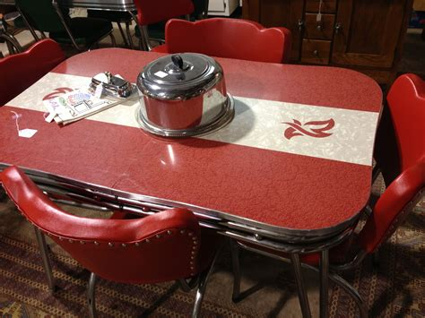 this retro kitchen table dinette sets