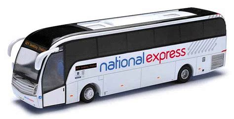 national couch 4mm scale diecast model buses and coaches