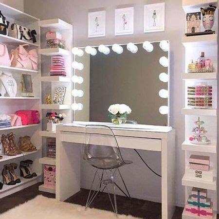 Closet Vanity Ideas by 17 Diy Vanity Mirror Ideas To Make Your Room More