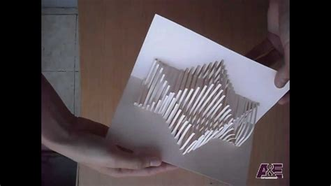 wave pop up card template 13 how to make an amazing pop up card