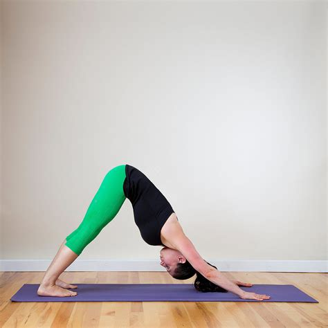 downward facing home practice morning popsugar fitness uk