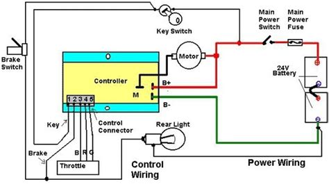 typical scooter power wiring