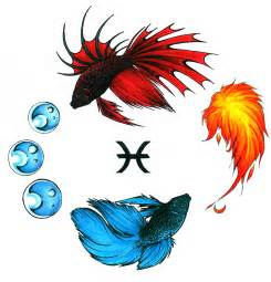 pisces color pisces tattoos and designs