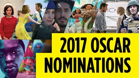 Oscar Nominees Speak Out On Their Nominations by Oscars 2017 Nominees Announced