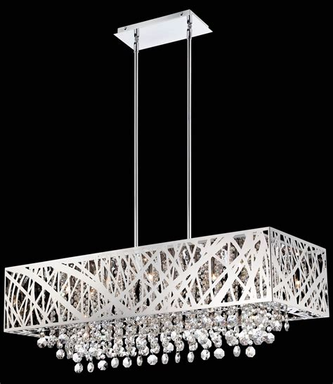 South Shore Decorating Lite Source El 10104 Benedetta Rectangular Chandelier