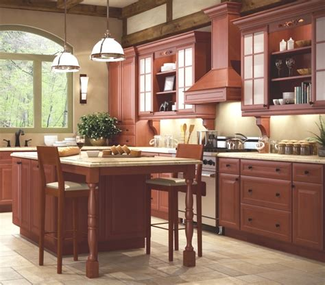 Ready To Assemble Kitchen Cabinets Reviews ginger glaze kitchen cabinet depot
