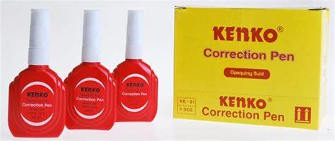 Tipe X Kenko Ke 01 Correction Pen Tipex Tip Ex kenko corection pen ke 01 1 doz toko grosir alat tulis kantor toko atk murah
