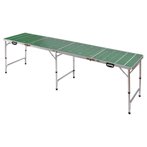 8ft aluminum portable folding beer pong table home party
