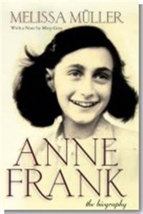 book cover biography exles anne frank the biography 1998 holocaust book the
