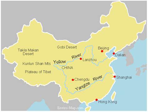 yellow river map china s yangtze and yellow river map world maps enviro map