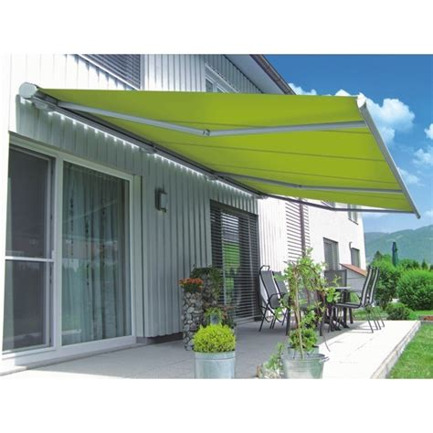 retractable awnings uk markilux 6000 full cassette electric patio awning markilux