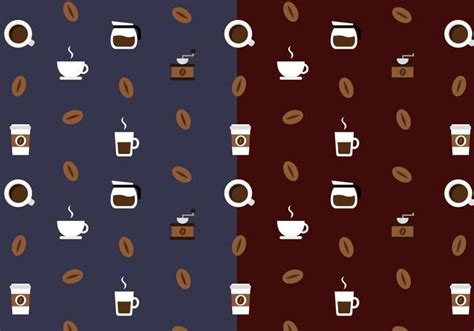 pattern coffee vector free coffee pattern vector download free vector art