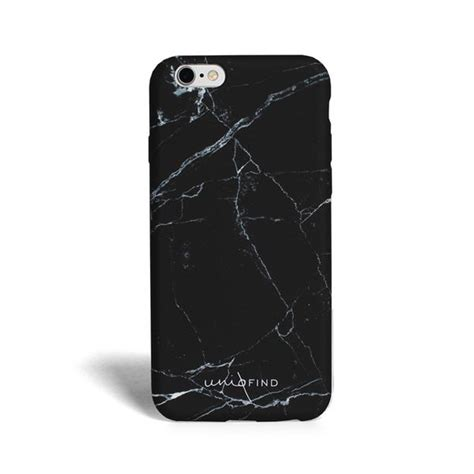 Marble Softcase For Iphone 4566 matte marble iphone black uniqfind