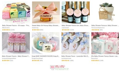 Baby Shower Favors Shopping by 35 Baby Shower Favors Personalized Baby Shower Favors